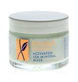 astara activated sea mineral mask