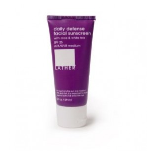 LATHER Daily Defense Facial Sunscreen