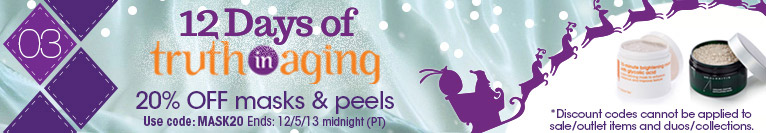 12 Days of TIA | Day 3 | Save 20% on Masks & Peels