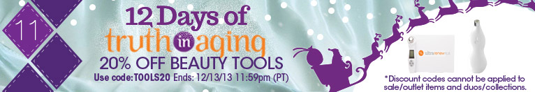 12 Days of TIA | Day 11 | Save 20% on Beauty Tools