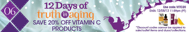 12 Days of TIA | Day 6 | Save 20% on Vitamin C