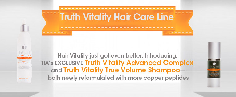 Introducing the All New Truth Vitality Hair Care Line