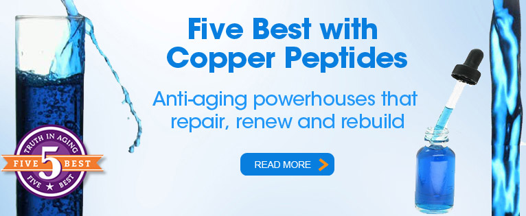 Five Best with Copper Peptides 2014