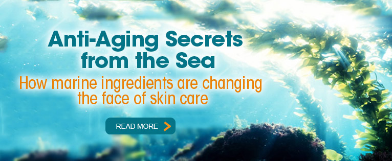 Marine Ingredients for Anti-Aging Skin Care