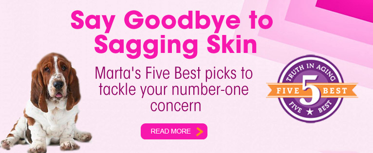 Five Best for Sagging Skin 2014