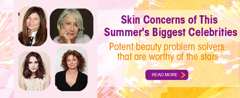 Skin Care Concerns of This Summer's Biggest Celebrities