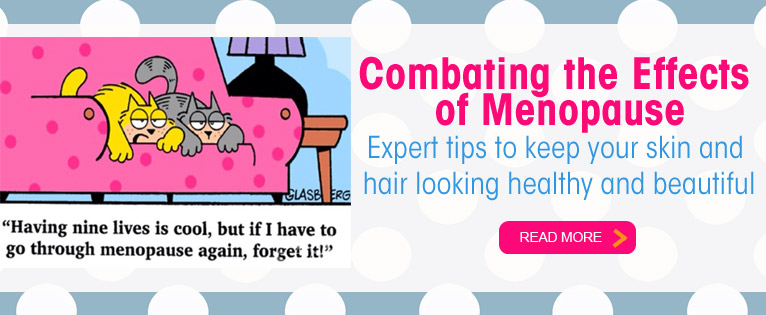 How Menopause Affects Your Skin and Hair