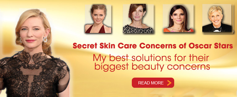 Secret Skin Care Concerns of Oscar Stars