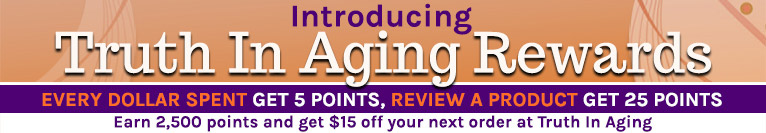 Truth In Aging Reward Points