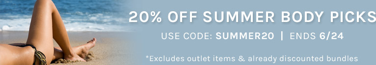Save 20% off all Sun & Body | Use Code: SUMMER20 | Ends 06/24