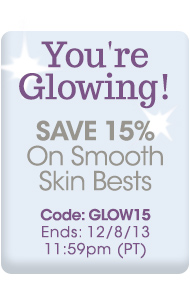 Get Glowing Skin - Save 15%