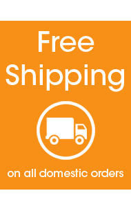 Free Shipping on ALL Domestic Orders | No Minimum
