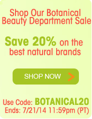 Shop Our Botanical Beauty Departments - Save 20%