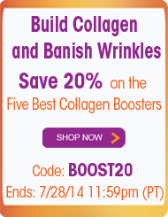 Five Best Collagen Boosters - Save 20%