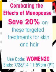 Get Healthy Skin and Hair During Menopause - Save 20%