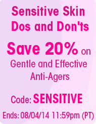 Shop Our Sensitive Skin Solutions - Save 20%