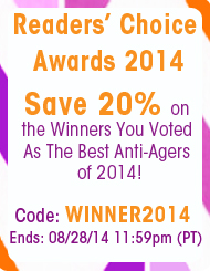 20% off Readers' Choice Award Winners 2014