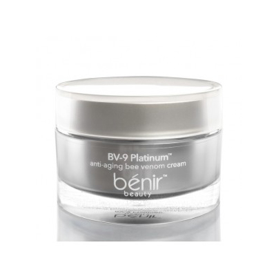 benir beauty bv nine platinum anti-aging bee venom cream