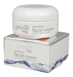 Hyalogic Episilk Premium Facial Cream with Hyaluronic Acid  2 oz
