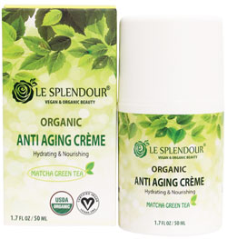 Le Splendour Organic Anti-Aging Crème
