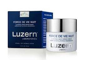 Luzern Laboratories Force de Vie Crème Nuit