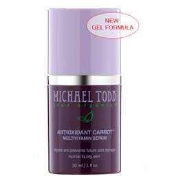 Michael Todd True Organics Antioxidant Carrot Multivitamin Serum 1 oz