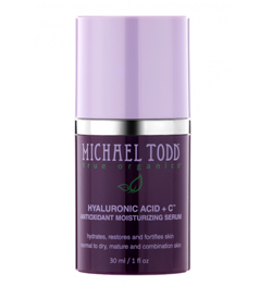 Michael Todd True Organics Hyaluronic Acid + C Antioxidant Moisturizing Serum