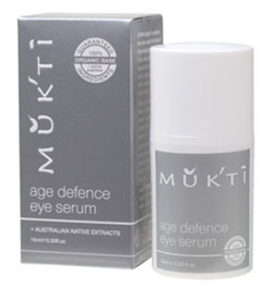 Mukti Age Defence Eye Serum .5 oz