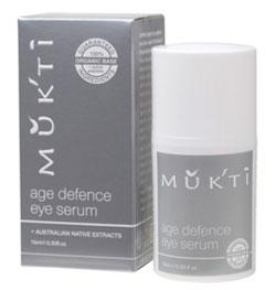 Mukti Age Defence Eye Serum .5 oz