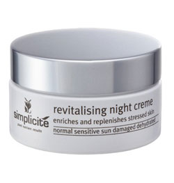 Simplicite Revitalizing Night Crème