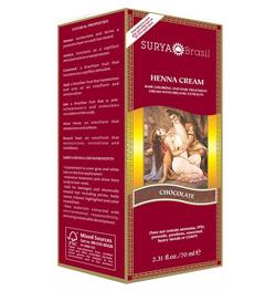 Natural hair dye with Surya Henna Brasil Cream - Truth In Aging