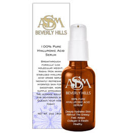 ASDM Beverly Hills 100% Pure Hyaluronic Acid Serum