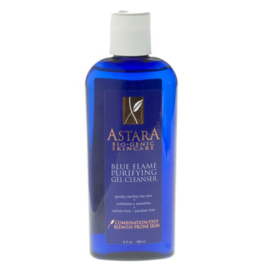 astara blue flame purifying gel cleanser