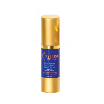 astara skin care's blue flame purifying treatment