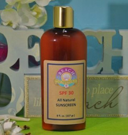 beach organics spf 30 all natural sunscreen