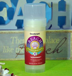 beach organics peppermint deodorant