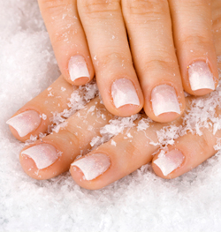hand and nail care in winter