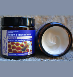 Beauty and the Bees Leatherwood Honey + Macadamia Rich Moisture Cream