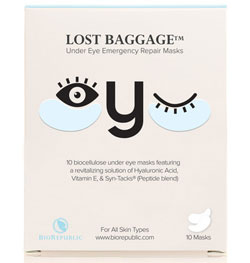 biorpublic lost baggage under eye mask