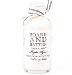 Board and Batten Begin Again Micro Facial Buff  & Masque