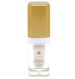 cornelia lumina gold spontaneous smoothing serum