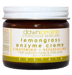dawn lorraine lemongrass enzyme creme