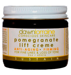 dawn lorraine pomegranate lift creme