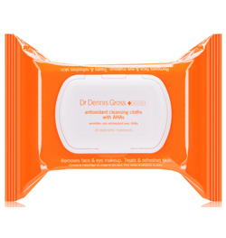 Dr. Dennis Gross Antioxidant Cleansing Cloths with AHAs