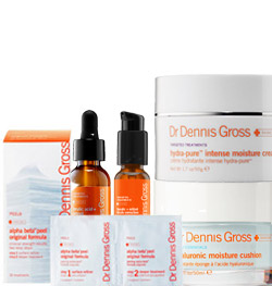 emily's personalized skincare regimen from dr dennis gross