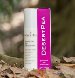 desertpea protective day moisturiser