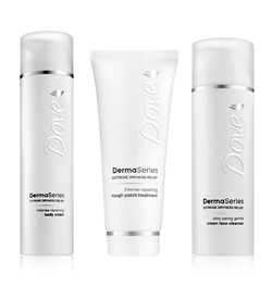 dove dermaseries skin care