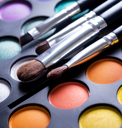 add a pop of color with makeup