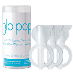 glo pop 3 day teeth whitener
