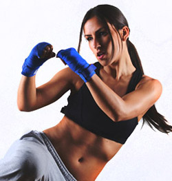 Professional female fighter